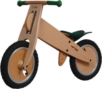 Wooden Learner Bike