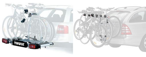 Towbar Mounted Cycle Carriers